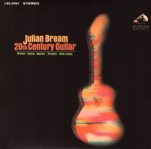 Julian Bream 20th Century Guitar frontLOW