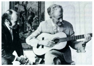 Julian Bream and Frank Martin