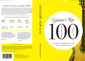 Guitar Top100 cover
